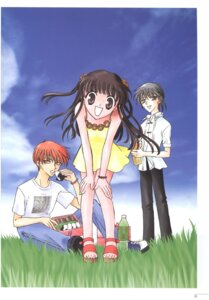 Rating: Safe Score: 2 Tags: dress fruits_basket honda_tohru sohma_kyo sohma_yuki summer_dress takaya_natsuki User: Radioactive