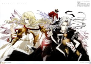 Rating: Safe Score: 2 Tags: abel_nightroad cain_nightroad esther_blanchett tagme trinity_blood watermark User: Radioactive