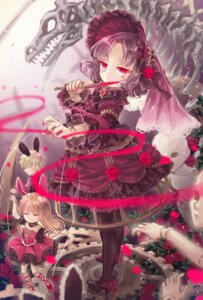 Rating: Safe Score: 18 Tags: animal_ears bunny_ears dress gothic_lolita heels lolita_fashion weapon yumeichigo_alice User: Mr_GT
