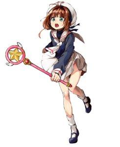Rating: Safe Score: 27 Tags: card_captor_sakura kinomoto_sakura pomu seifuku weapon User: saemonnokami