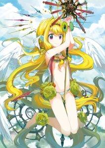 Rating: Questionable Score: 41 Tags: angel kunozyo pantsu weapon wings User: Hentar