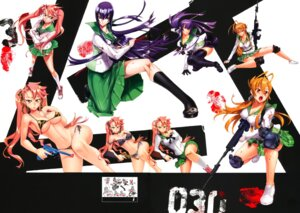 Rating: Questionable Score: 40 Tags: bikini bra busujima_saeko cleavage crease erect_nipples gun highschool_of_the_dead inazuma megane miyamoto_rei pantsu seifuku swimsuits takagi_saya torn_clothes underboob User: gogotea28