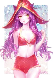 Rating: Safe Score: 51 Tags: animal_ears bikini heather37 league_of_legends lulu_(league_of_legends) swimsuits User: blooregardo
