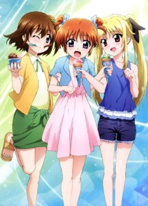 Rating: Safe Score: 36 Tags: dress fate_testarossa mahou_shoujo_lyrical_nanoha mahou_shoujo_lyrical_nanoha_reflection takamachi_nanoha yagami_hayate User: drop