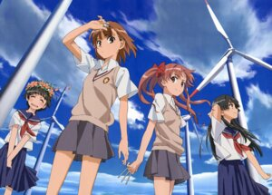 Rating: Safe Score: 23 Tags: misaka_mikoto saten_ruiko shirai_kuroko to_aru_kagaku_no_railgun to_aru_majutsu_no_index uiharu_kazari yamashita_yuu User: Shuugo