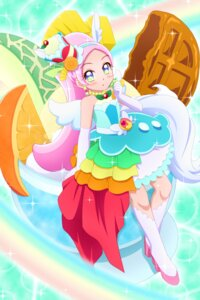 Rating: Safe Score: 5 Tags: heels kirahoshi_ciel kirakira_precure_a_la_mode kiyu_(pixiv35948) pretty_cure wings User: animeprincess