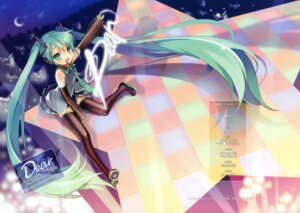 Rating: Safe Score: 18 Tags: fixed friendly_sky hatsune_miku neko_sakana thighhighs vocaloid User: fireattack