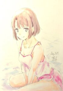 Rating: Safe Score: 18 Tags: cleavage katou_megumi nii_manabu saenai_heroine_no_sodatekata sketch User: saemonnokami