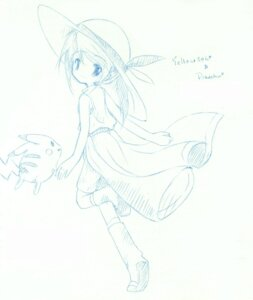 Rating: Safe Score: 7 Tags: monochrome pikachu pokemon sketch yellow_(pokemon) User: charunetra