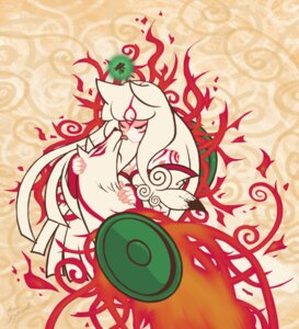 Rating: Safe Score: 15 Tags: amaterasu animal_ears issun ookami tagme User: Amperrior
