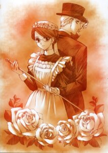 Rating: Safe Score: 6 Tags: carnelian emma maid megane monochrome victorian_romance_emma william_jones User: blooregardo
