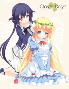 Rating: Safe Score: 54 Tags: clover_day's hisagi_yuu maid takakura_anri takakura_anzu User: lichtzhang