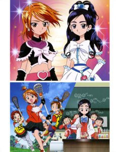 Rating: Questionable Score: 3 Tags: bike_shorts dress futari_wa_pretty_cure megane pretty_cure seifuku User: drop