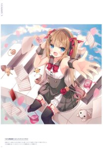 Rating: Safe Score: 18 Tags: dress hoshi thighhighs User: BattlequeenYume