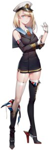 Rating: Safe Score: 32 Tags: battleship_girl heels quuni thighhighs uniform User: Dreista