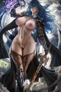 Rating: Explicit Score: 139 Tags: armor byleth fire_emblem_three_houses naked_cape nipples pussy sakimichan stockings sword thighhighs uncensored User: BattlequeenYume