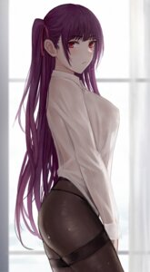 Rating: Questionable Score: 33 Tags: dress_shirt girls_frontline pantyhose see_through selcky wa2000_(girls_frontline) User: BattlequeenYume