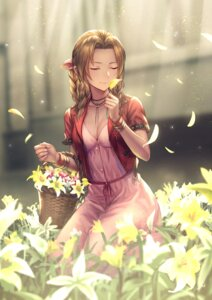 Rating: Safe Score: 49 Tags: aerith_gainsborough anbe_yoshirou cleavage dress final_fantasy final_fantasy_vii User: BattlequeenYume