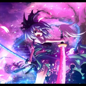 Rating: Safe Score: 10 Tags: ayakashi_(artist) dress konpaku_youmu myon sword touhou User: charunetra
