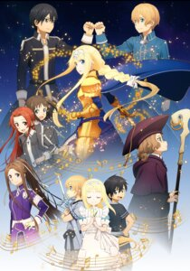 Rating: Safe Score: 37 Tags: alice_schuberg armor cardinal dress eugeo kirito megane ronye_arabel sortiliena_serlut sword sword_art_online sword_art_online_alicization tagme tieze_shtolienen weapon User: charunetra