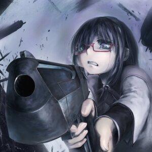 Rating: Safe Score: 27 Tags: akemi_homura gun kath megane puella_magi_madoka_magica User: Radioactive