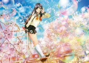 Rating: Safe Score: 39 Tags: mikimoto_haruhiko seifuku User: Twinsenzw