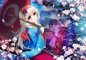 Rating: Safe Score: 54 Tags: kimono kona_(pixiv1056283) umbrella User: Mr_GT