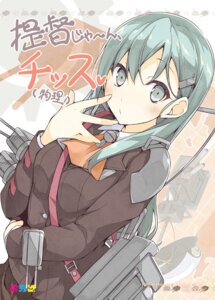 Rating: Safe Score: 54 Tags: kantai_collection mizoguchi_keiji suzuya_(kancolle) User: fairyren