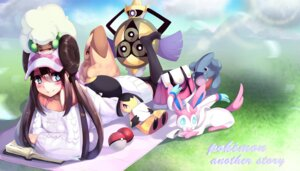 Rating: Safe Score: 16 Tags: aegisalsh gible lopunny mawile mei_(pokemon) pokemon pokemon_black_and_white_2 sweater sylveon thighhighs torieto whimsicott User: Humanpinka