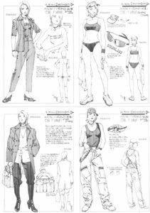 Rating: Safe Score: 2 Tags: bikini heels megane pantsu rahxephon sketch swimsuits yamada_akihiro User: Radioactive
