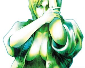 Rating: Questionable Score: 7 Tags: aya_brea no_bra nomura_tetsuya open_shirt parasite_eve square_enix wallpaper User: Azerty