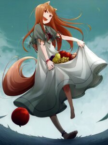 Rating: Safe Score: 35 Tags: animal_ears ayakura_juu dress holo spice_and_wolf tail User: 3lizabeth
