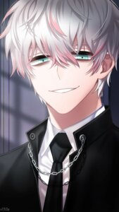 Rating: Safe Score: 3 Tags: business_suit game_cg male mystic_messenger saeran_choi User: charunetra
