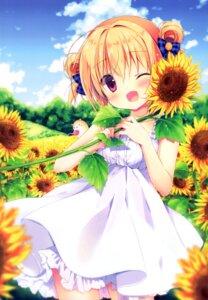 Rating: Safe Score: 20 Tags: canvas+garden dress hoshigaoka_ciel miyasaka_miyu summer_dress User: lightsnow