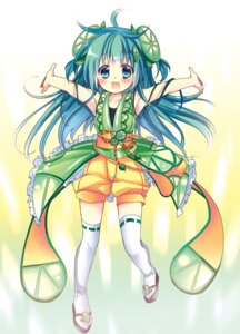 Rating: Safe Score: 15 Tags: hikanyan thighhighs User: fairyren