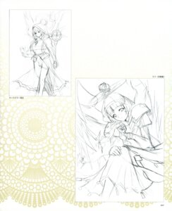Rating: Safe Score: 3 Tags: angel dress monochrome pantsu sketch thighhighs wings yasakani_an User: petopeto
