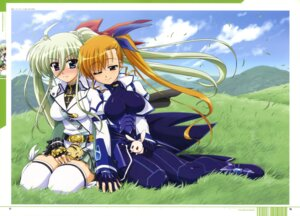 Rating: Safe Score: 21 Tags: bodysuit einhart_stratos heterochromia mahou_shoujo_lyrical_nanoha mahou_shoujo_lyrical_nanoha_a's_the_gears_of_destiny mahou_shoujo_lyrical_nanoha_vivid thighhighs vivio User: drop