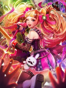 Rating: Safe Score: 25 Tags: dress fishnets furyou_michi_~gang_road~ guitar tajima_yukie thighhighs User: blooregardo