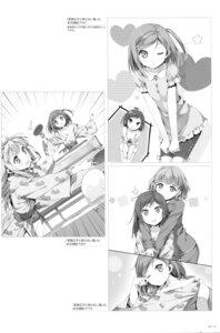 Rating: Safe Score: 17 Tags: azuki_azusa cleavage hentai_ouji_to_warawanai_neko kantoku monochrome pajama tsutsukakushi_tsukiko wakamoto_waka User: Twinsenzw