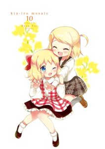 Rating: Safe Score: 17 Tags: alice_cartelet dress hara_yui kin'iro_mosaic kujou_karen User: kiyoe
