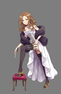 Rating: Safe Score: 31 Tags: cleavage dress heels princess_principal stockings tagme thighhighs transparent_png weapon User: NotRadioactiveHonest