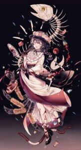 Rating: Safe Score: 16 Tags: blood heels lolita_fashion monster_girl wa_lolita y_o_u_k_a User: Dreista