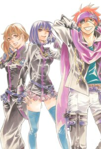 Rating: Safe Score: 8 Tags: d.gray-man hoshino_katsura lavi lenalee_lee miranda_lotto User: Radioactive