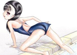 Rating: Questionable Score: 4 Tags: cameltoe hidaka_medaka school_swimsuit swimsuits User: leotard