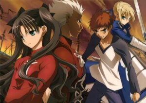 Rating: Safe Score: 31 Tags: archer armor emiya_shirou fate/stay_night fate/stay_night_unlimited_blade_works fujii_maki saber sword toosaka_rin User: Share