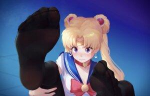 Rating: Safe Score: 23 Tags: cleavage feet ice_(ice_aptx) sailor_moon seifuku tsukino_usagi User: Mr_GT