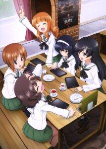 Rating: Safe Score: 18 Tags: akiyama_yukari girls_und_panzer isuzu_hana nishizumi_miho reizei_mako seifuku takebe_saori User: drop