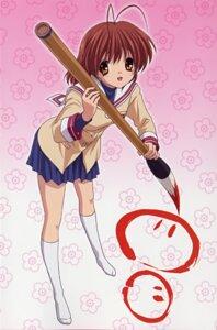 Rating: Safe Score: 6 Tags: clannad furukawa_nagisa ikeda_kazumi seifuku User: Paganini