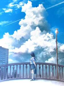 Rating: Safe Score: 40 Tags: kouji_(astral_reverie) landscape seifuku User: blooregardo