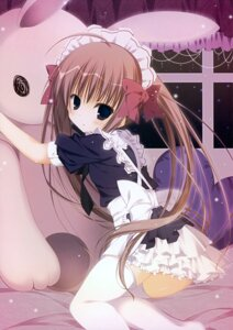 Rating: Safe Score: 33 Tags: inugami_kira maid thighhighs User: Hatsukoi